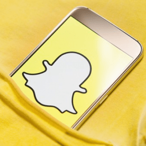 Agence de communication digitale Assurance/Finance Snapchat